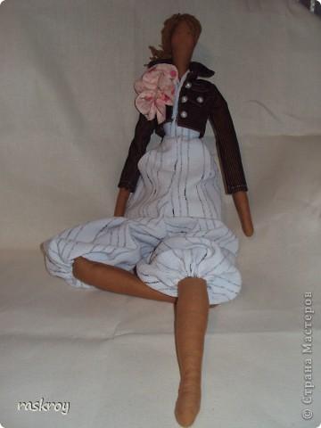 Выкройка в натуральную величину - я журнал выписывала))) Кукла - садовый ангел фото 3