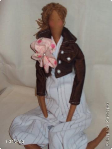Выкройка в натуральную величину - я журнал выписывала))) Кукла - садовый ангел фото 4