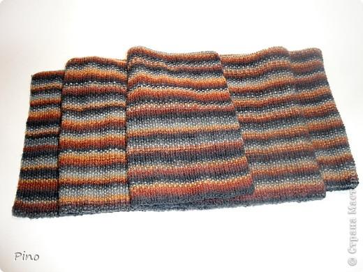 Еще в конце зимы связала этот шарфик, но сфотографировать руки дошли только сейчас.  фото 3