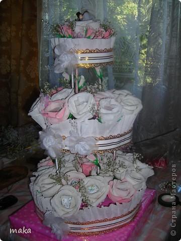 Букеты конфетные свадебные и не только. фото 4