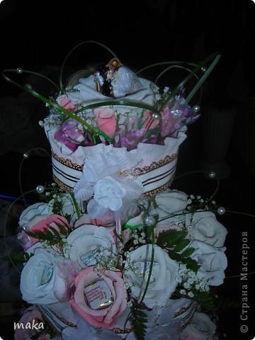 Букеты конфетные свадебные и не только. фото 3