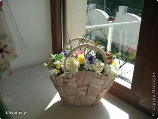 корзиночка в подарок фото 1