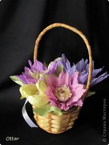 Букетик из сладких цветов. фото 1