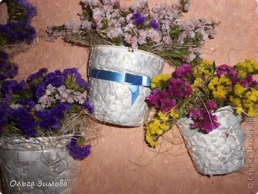 Давно хотела сделать панно в спальню, но всё никак не доходили руки и вот наконец свершилось. В  своей  работе я использовала бросовый материал и цветы- сухоцветы. Ну, а теперьпоподробнее... фото 12
