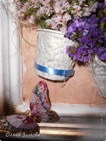 Давно хотела сделать панно в спальню, но всё никак не доходили руки и вот наконец свершилось. В  своей  работе я использовала бросовый материал и цветы- сухоцветы. Ну, а теперьпоподробнее... фото 17