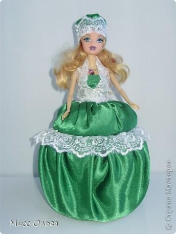 Сделала сегодня своей принцессе Куклу - шкатулку. Теперь она там хранит свои драгоценности. Большая благодарность Korotkaya Svetlana По МК которой я делала шкатулку. http://stranamasterov.ru/node/399036. Все очень просто и понятно. Спасибо !!! фото 1