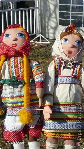 Куклы , попиков на этой ярмарке не было !((( фото 6