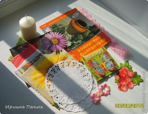 Пришёл мне всё-таки подарок долгожданный! Так что ЛЕТНЯЯ игра http://stranamasterov.ru/node/362412 полноценно закончилась! Я ТАК ЩЩЩЩАСЛИВА!!!!!!!!!!! УРАААААААААААААА!  Спасибо тебе огромное,Катюша! Катя- это жительница Страны Sjusen. Такая красотища! Деревце необыкновенное!!! Я таких не видела ещё! У нас пополнение в нашей коллекции! Все в дочиной комнатке стоят! Музей!!! Пироженное очень классное,так блестит на солнце! Начинку доча забрала))))) Всё подарочки очень приятные,интересные и обязательно пригодятся рано или поздно! У меня ничего не пропадает! ;) Спасибо Большое,улыбаемся целый день!!!!Лето продолжается!! фото 4