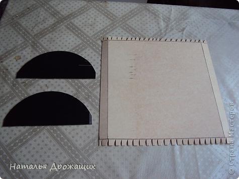 Поделка изделие Аппликация из скрученных жгутиков Сундук сокровищ для пирата Картон Коробки Краска фото 3