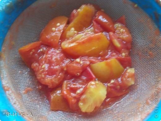 Приветствую всех,кто зашел в гости!!! Очень мы любим кетчуп,но при мысли ,что его надо варить 2 часа прихожу в ужас!!! Предлагаю быстрый вариант приготовления кетчупа,ну,и еще несколько вкусных заготовок. фото 6