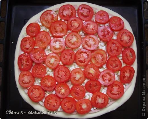 Дорогие мои мастерицы, сегодня я поделюсь с вами рецептом своей пиццы. фото 6