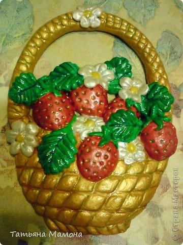 Полная корзинка ягод