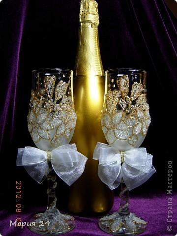 Бокалы свадебные  фото 1