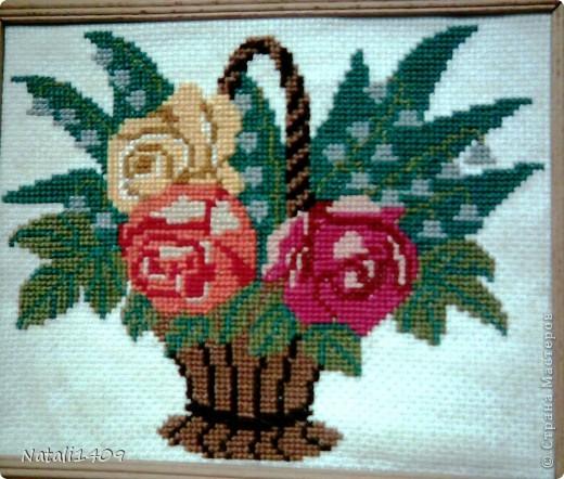 Всем привет! Замечательная техника вышивка крестиком! Какие шедевры создают настоящие мастерицы!!!! Загляденье!  А это незначительная часть часть моей коллекции. Одни из первых творений. фото 1