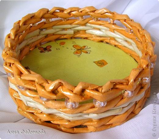 Вот такая упаковочка для мыльного тортика: фото 4
