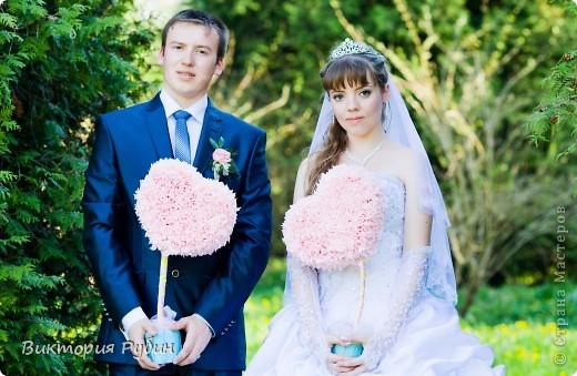 Вот такие деревца я делала для свадебной фотосессии=) фото 5