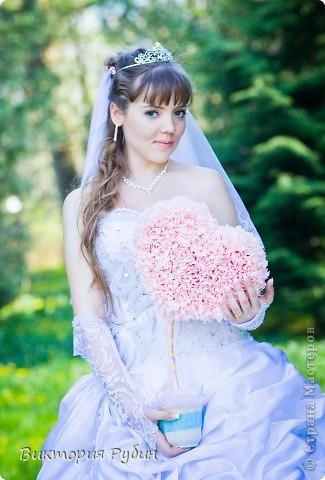 Вот такие деревца я делала для свадебной фотосессии=) фото 2