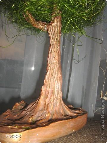 Вот такое чудное деревце было сделано очень-очень быстро :) почти за сутки!  фото 2