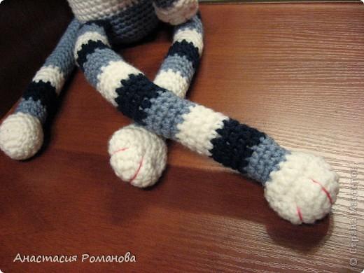 Совершенно случайно увидела у Людмилы (Lusi_22) такого котика http://stranamasterov.ru/node/327608?c=favorite, и влюбилась в него. Вот на свет появился и мой котяра, прошу любить и жаловать)))) фото 3