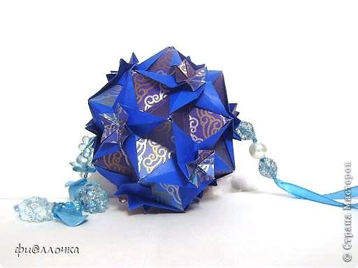Здравствуйте, дорогие мои! Принимайте в созвездие и мою звездочку!!! Name: Cassiopeia Designer: Uniya Filonova Units: 30 Paper: 4*12 cm (1:3) Final height: ~ 12 cm  фото 4