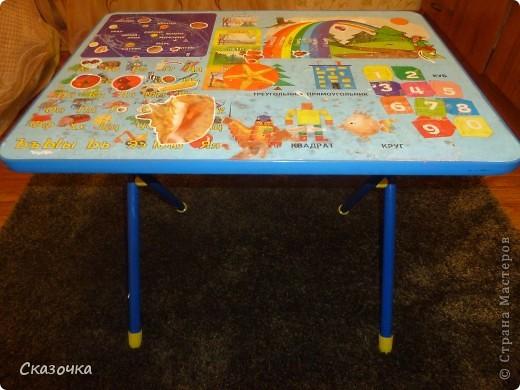 Вот такой столик в готовом виде. фото 3