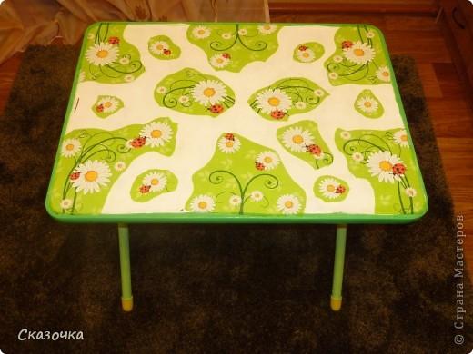 Вот такой столик в готовом виде. фото 4