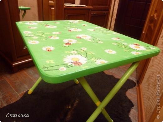 Вот такой столик в готовом виде. фото 1