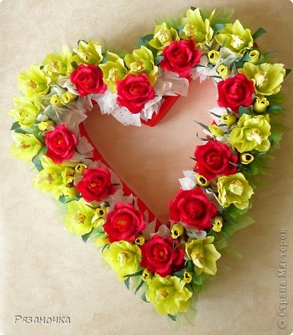 У меня сегодня 2 сердца. Люблю я их делать. фото 13