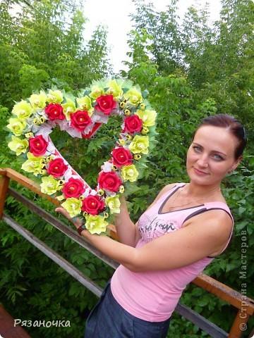 У меня сегодня 2 сердца. Люблю я их делать. фото 16