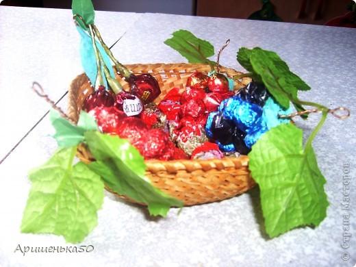 Виноград и вишенки фото 1