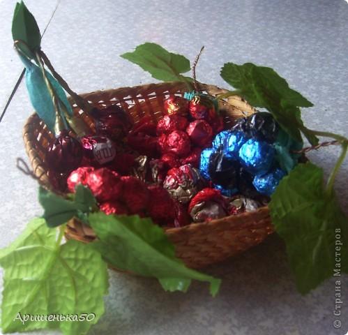 Виноград и вишенки фото 2