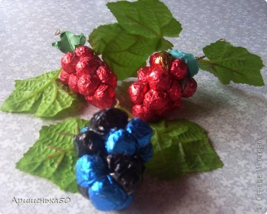Виноград и вишенки фото 5
