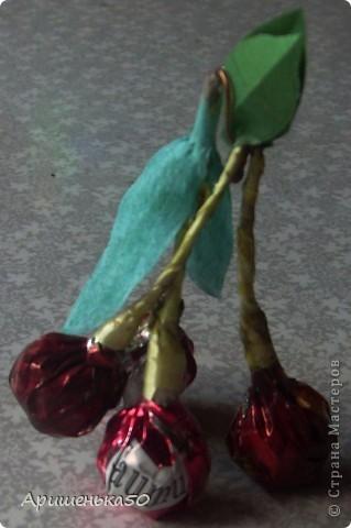 Виноград и вишенки фото 7