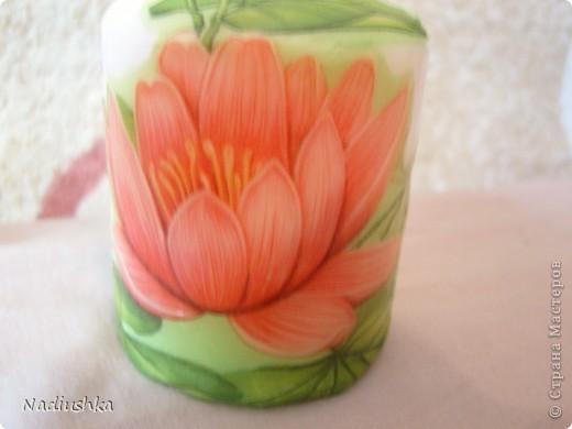 Хочу показать мои новые свечи - продолжаю совершенствоваться в декупаже  фото 6