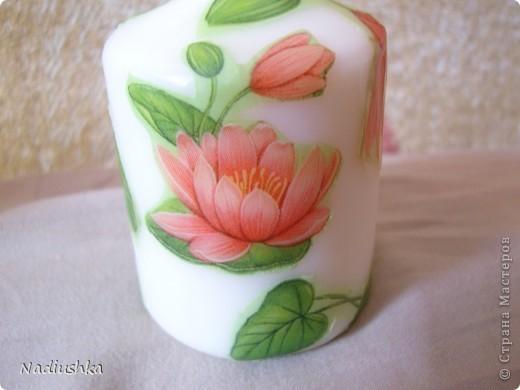 Хочу показать мои новые свечи - продолжаю совершенствоваться в декупаже  фото 7