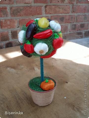 Мои любимые подсолнушки! Крона из цветков подсолнуха и шариков сизаля. фото 2