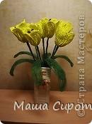 Желтые тюльпаны... очень красиво) фото 2