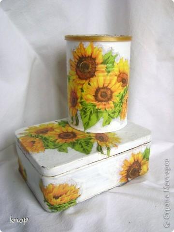 как же я люблю эти солнечные цветы! и они нравятся не только мне,но и маме))) поэтому этот приборчик переселился на дачную кухню родителей фото 1
