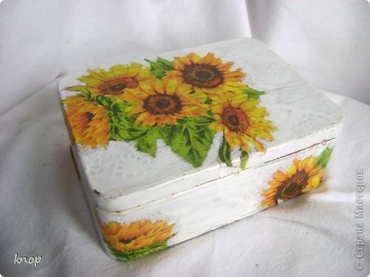 как же я люблю эти солнечные цветы! и они нравятся не только мне,но и маме))) поэтому этот приборчик переселился на дачную кухню родителей фото 5