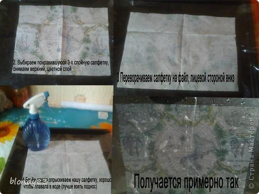 МК декупаж сумки фото 2