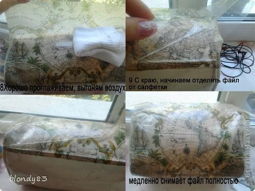 МК декупаж сумки фото 3