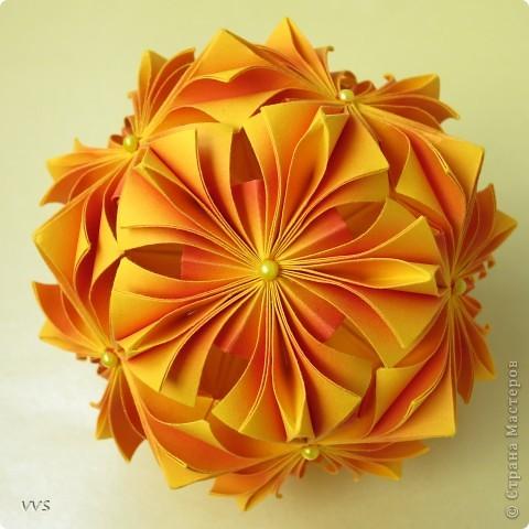 Кусудама День рождения Оригами