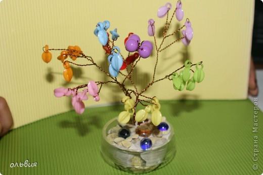 цветное деревце