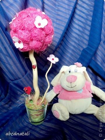 Розовое дерево счастья фото 1