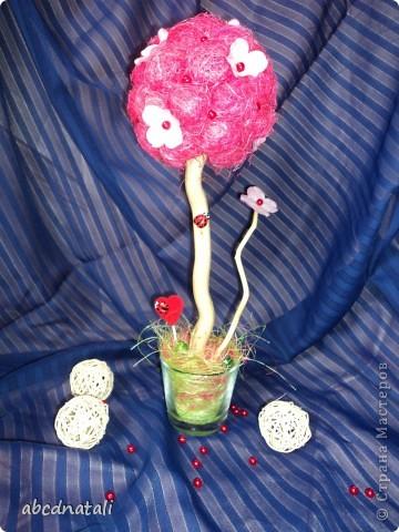 Розовое дерево счастья фото 6