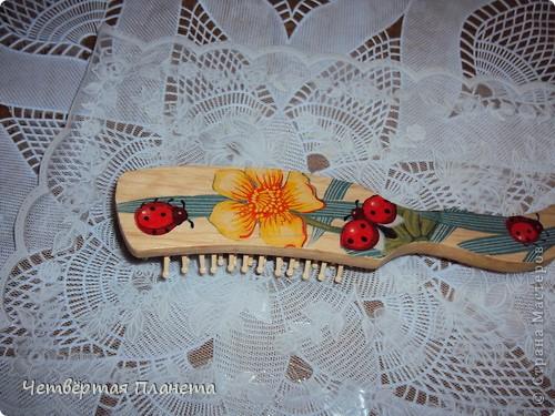 расчески деревянные,небольшие.Сделала как сувенир-подарочек(еду в гости)))) фото 5