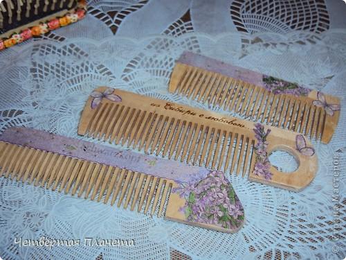 расчески деревянные,небольшие.Сделала как сувенир-подарочек(еду в гости)))) фото 4
