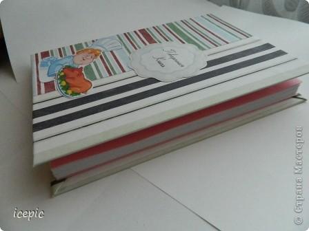 Вот такая книжка получилась для рецептов фото 3