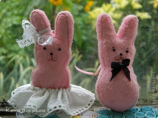 брелки зайцы
