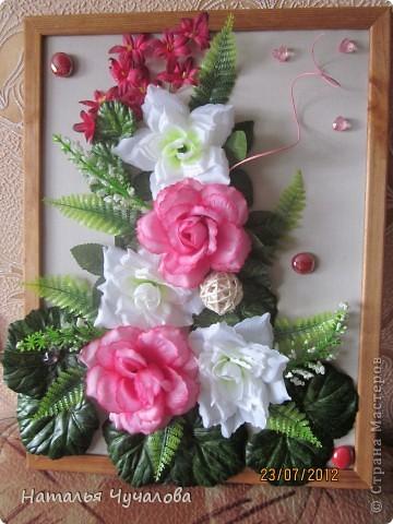 Коллаж цветов своими руками